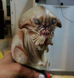 Alien creature bust 1552016 by BOULARIS