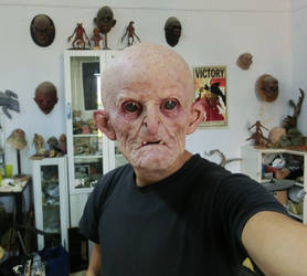 Latex mask fitting test. by BOULARIS