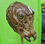 Insectoid latex mask