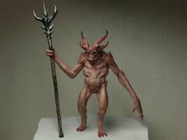 Demon maquette