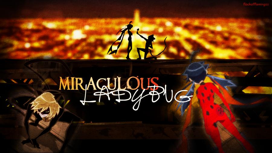 Miraculous ladybug wallpaper by flockofflamingos on deviantart - Miraculous wallpaper ...