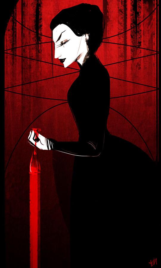 Delilah: The ((Reversed)) Queen of Cups
