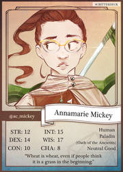 Critical Role: #Critterdeck by FlockofFlamingos