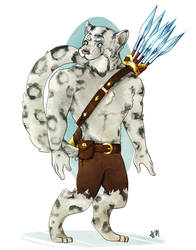Commission: Storm the Tabaxi Barbarian