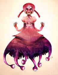 Commission: Beholder Girl