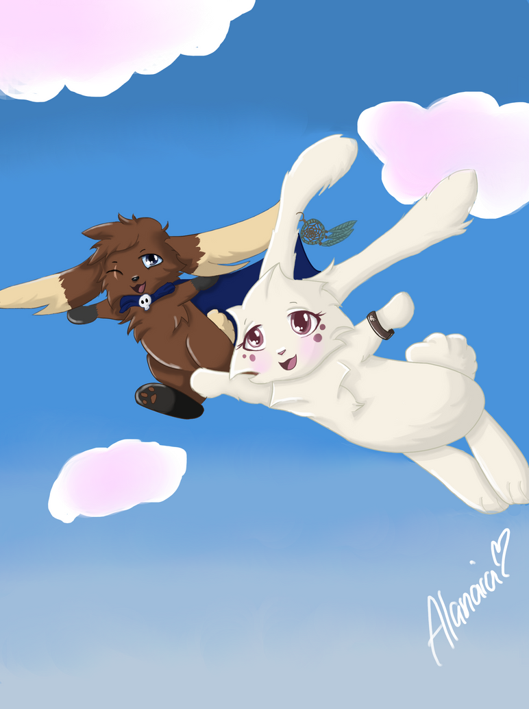 Flying's Like Breathing - Village Request by Alanaias