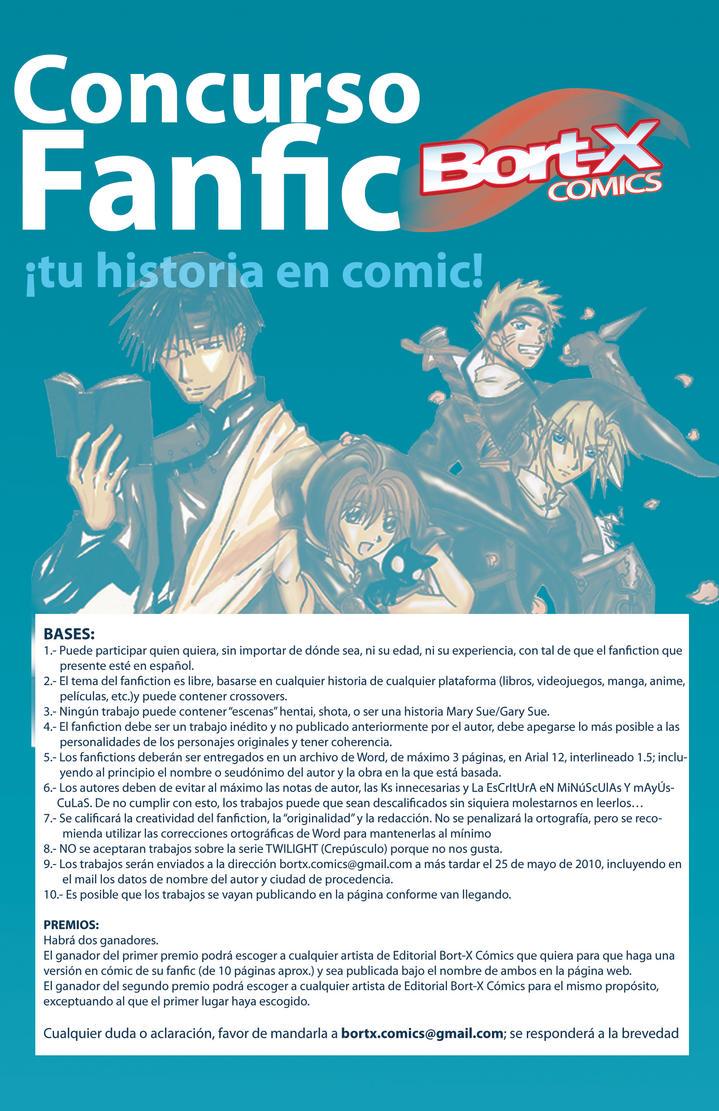 CONCURSO DE FANFICS by Bortex-Comics