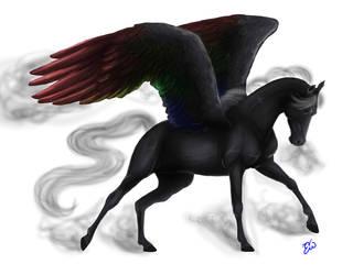 Pegasus by blckxwngxdragon