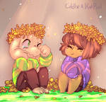 Undertale Anniversary - Asriel and Frisk (Collab)