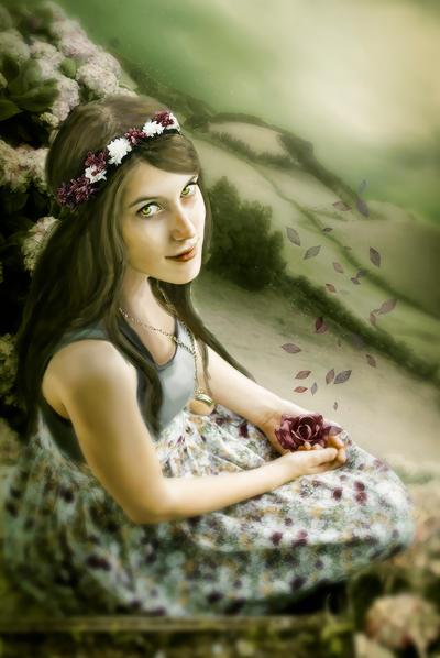 Secret Garden by MelanieMaterne