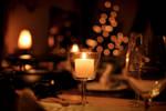 christmas dinner by MelanieMaterne