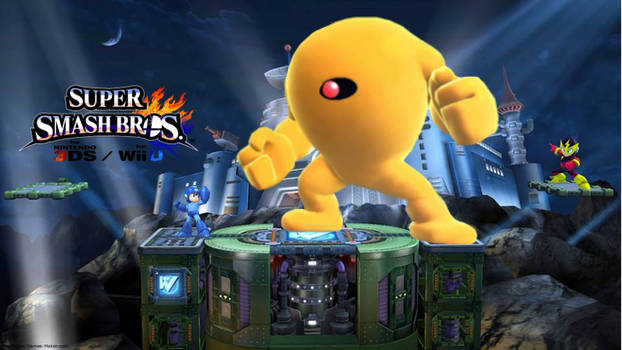Super Smash Bros 4 (Megaman)