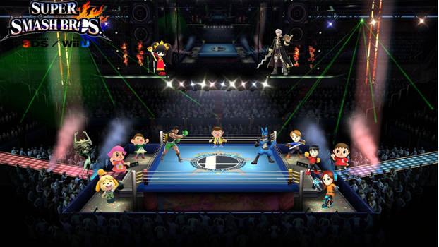 Super Smash Bros 4 (Fight!!!!)