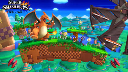 Super Smash Bros 4 (RUN!!!!!)