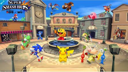 Super Smash Bros 4 (Gamevile)