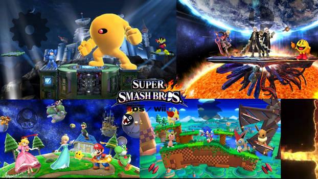 Super Smash Bros 4 (GameWorld)