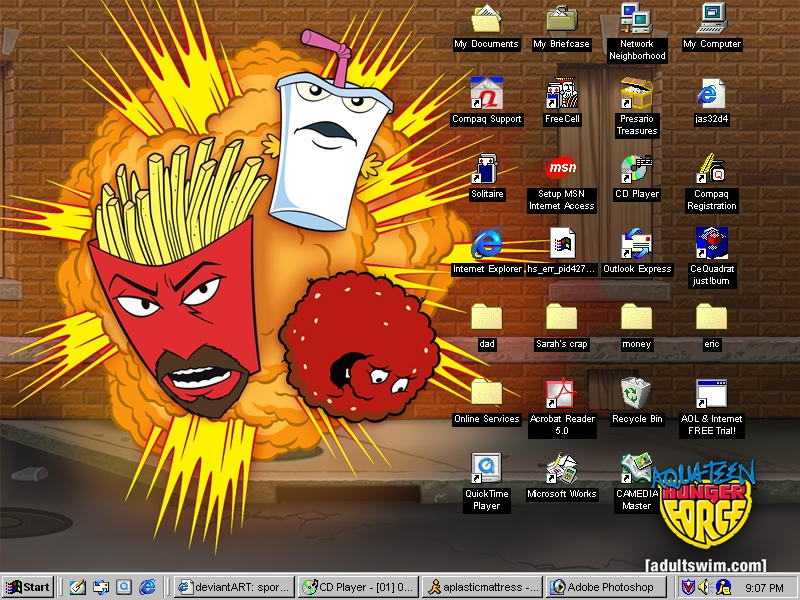 Aqua Teen Hunger Force by sporklover