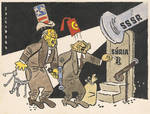 CSSR old caricature on Syria