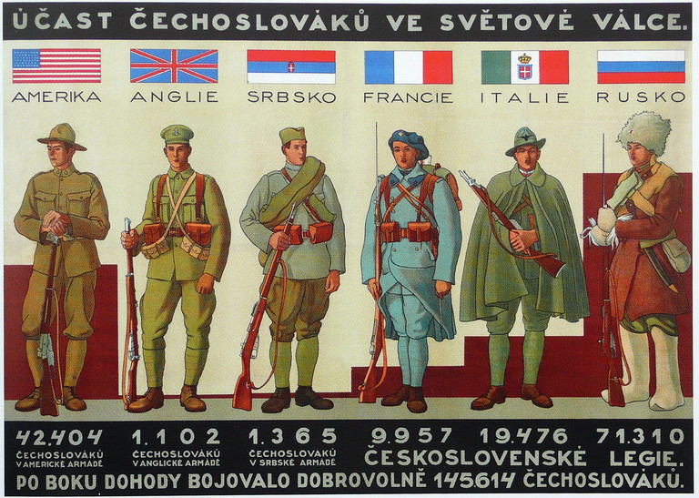 Participation of CzechoSlovaks in World War by Rodegas