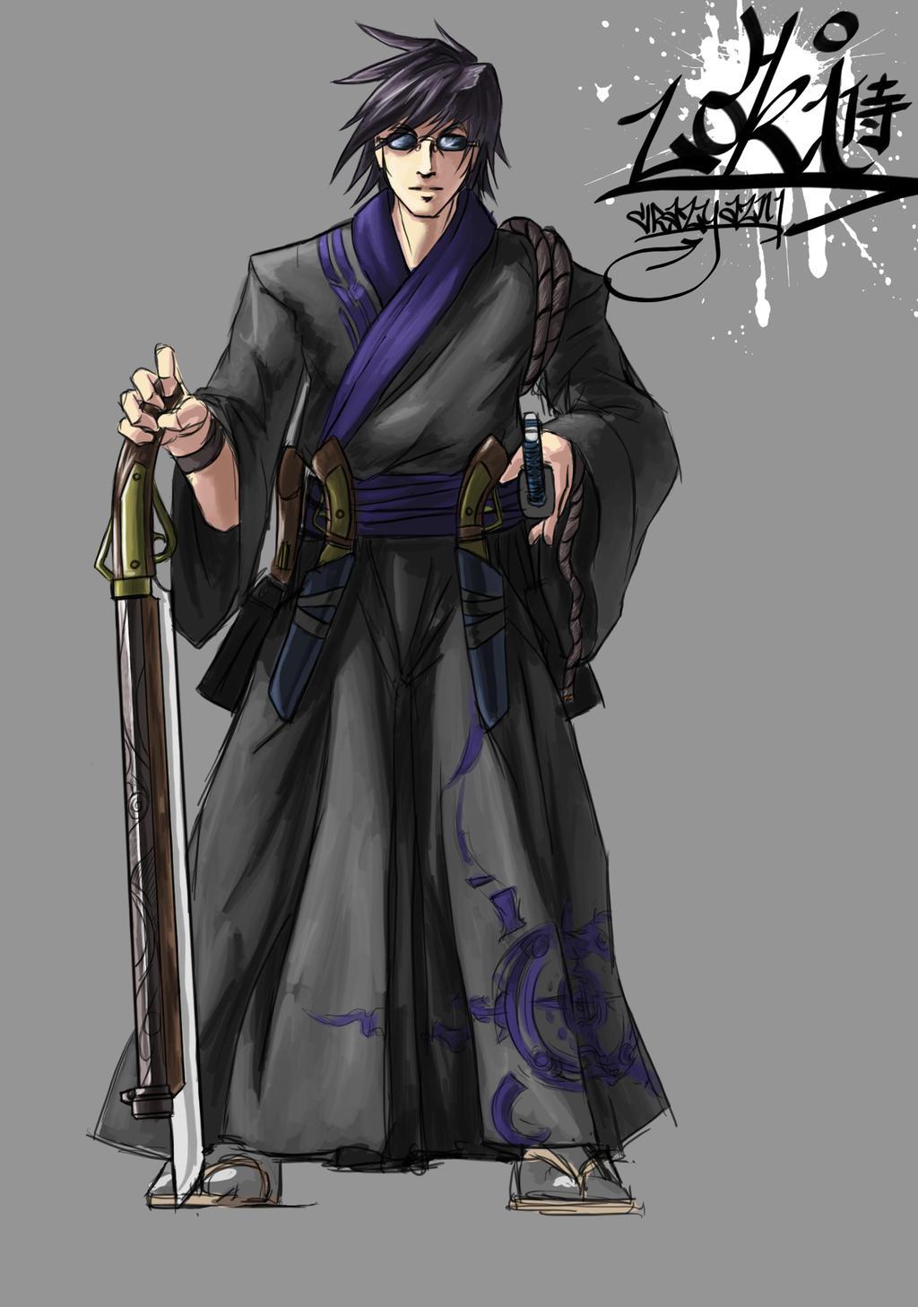Feudal Loki Original by CrazyAsian1