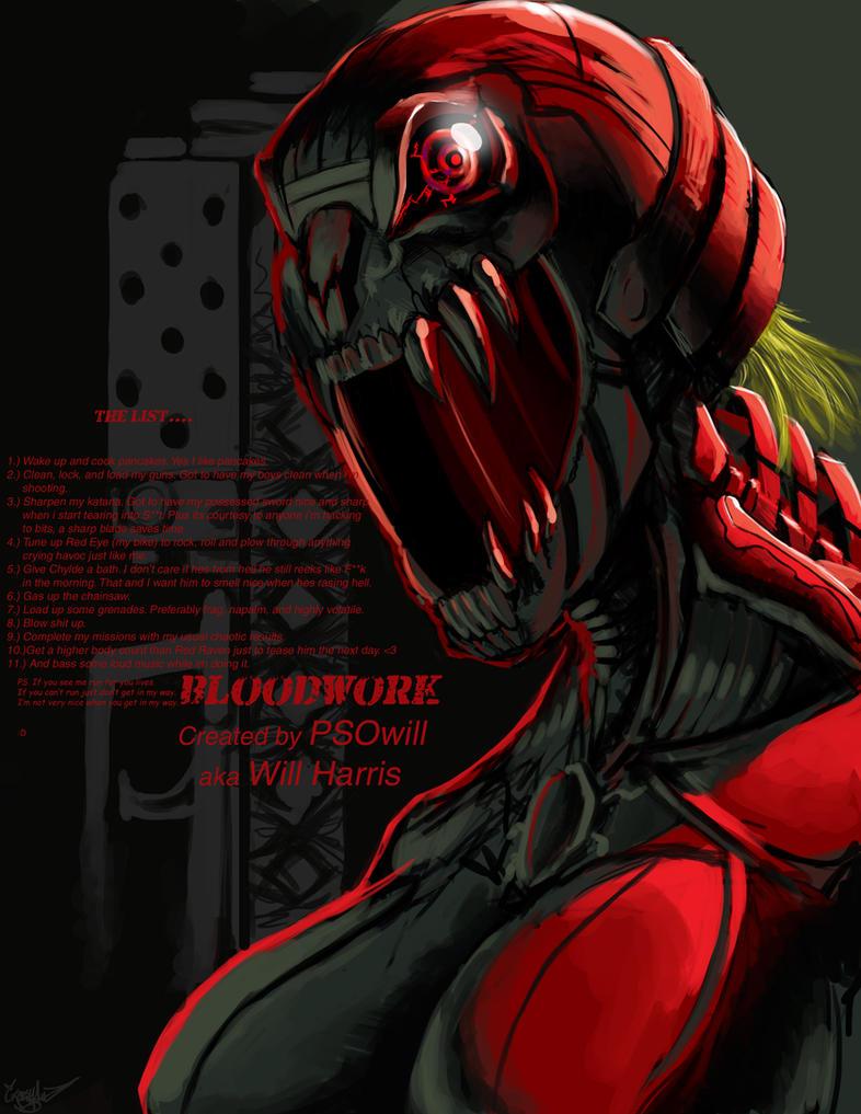 Bloodwork Future by CrazyAsian1