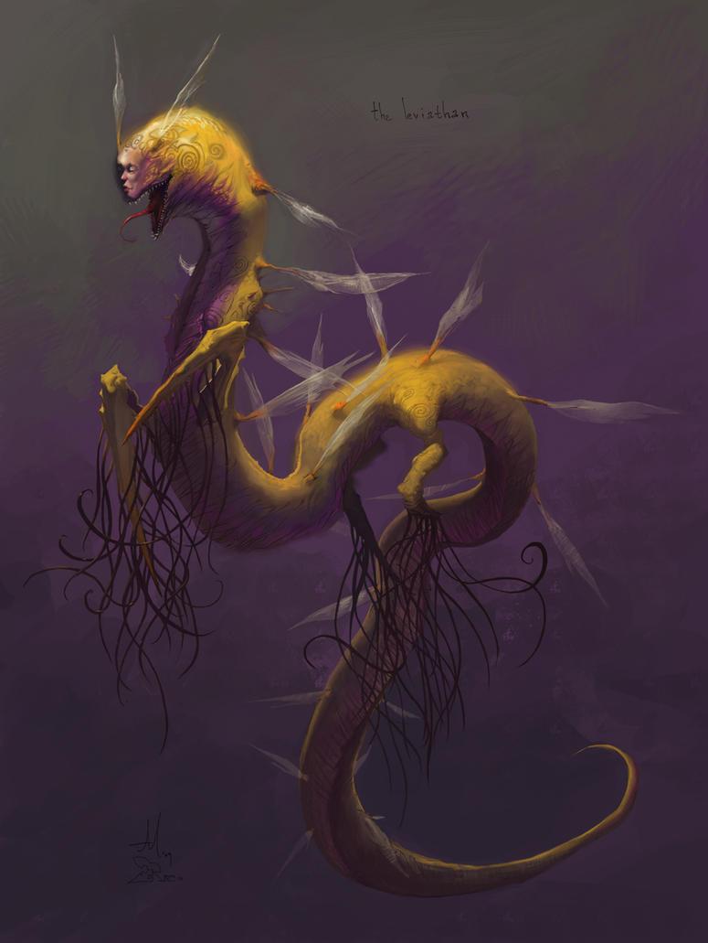 The Leviathen by CrazyAsian1