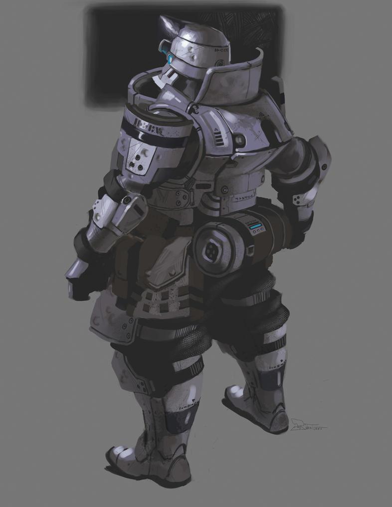 Tyr Combat Armor by CrazyAsian1