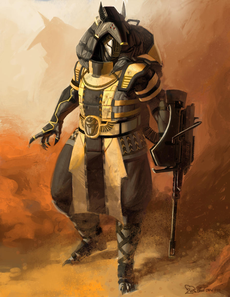 Egyptian Power Armor