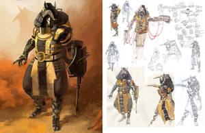 Anubis Development Sketches