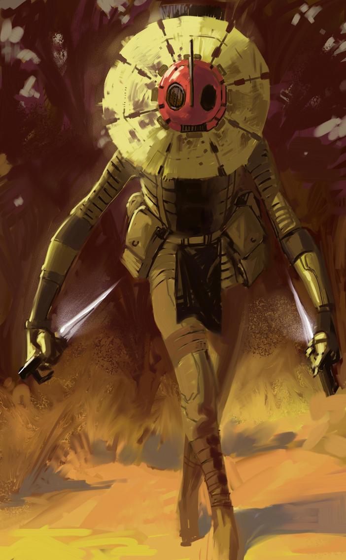 Masked Warrior by CrazyAsian1