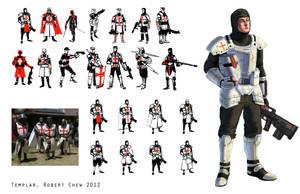 Knights Templar by CrazyAsian1