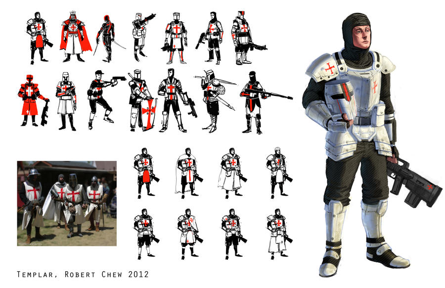 Knights Templar by CrazyAsian1