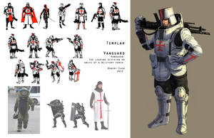 Templar Vanguard by CrazyAsian1