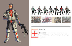 Templar Commando by CrazyAsian1