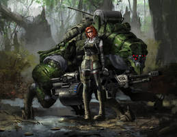 Huntress by CrazyAsian1