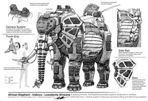 Big Five: Elephant Breakdown by CrazyAsian1
