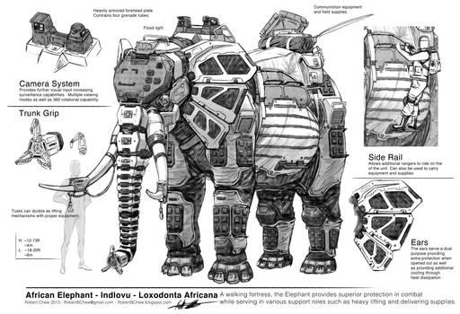 Big Five: Elephant Breakdown
