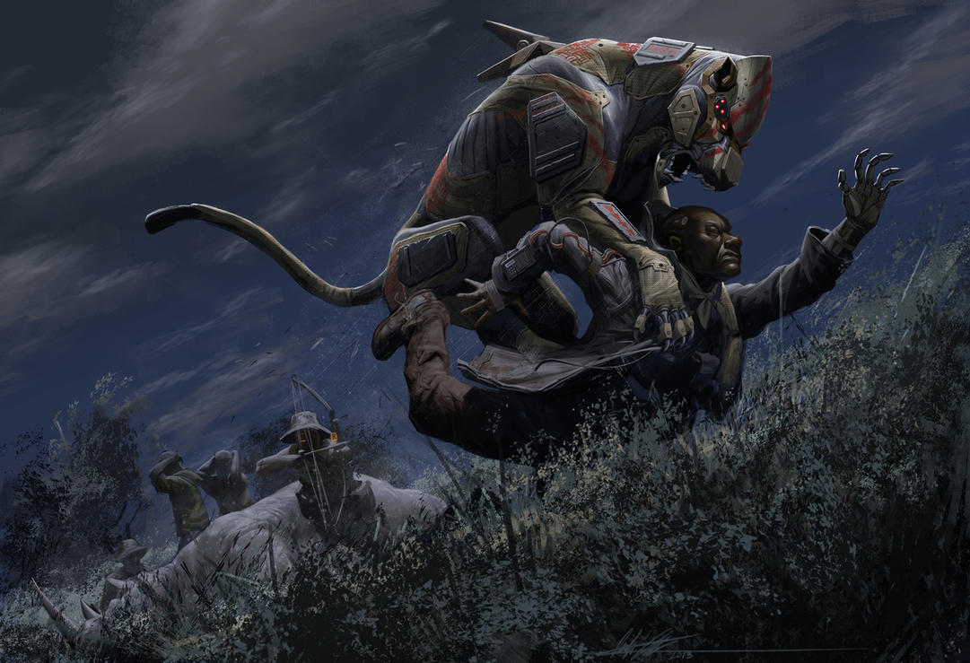 Big Five: Lion Ambush by CrazyAsian1