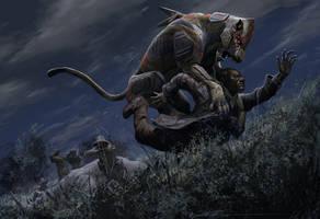 Big Five: Lion Ambush by CrazyAsian1