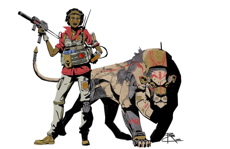 B5 Lion Ranger by CrazyAsian1