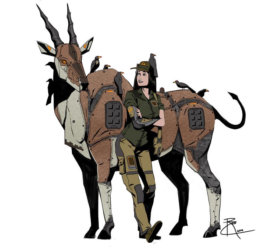 B5 Eland Ranger by CrazyAsian1