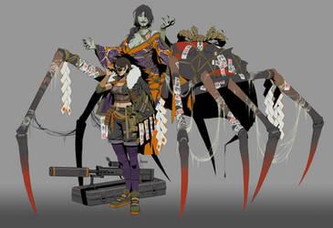 Shikigami: Jorogumo - Ninja