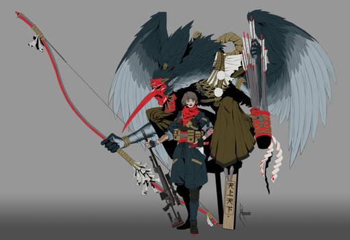 Shikigami: Tengu - Ninja