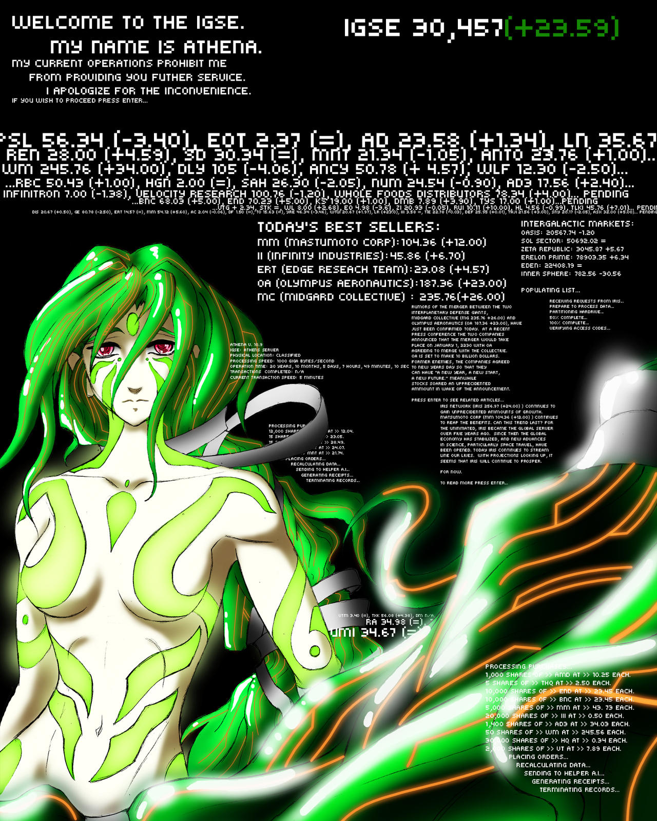 AI unit Athena by CrazyAsian1