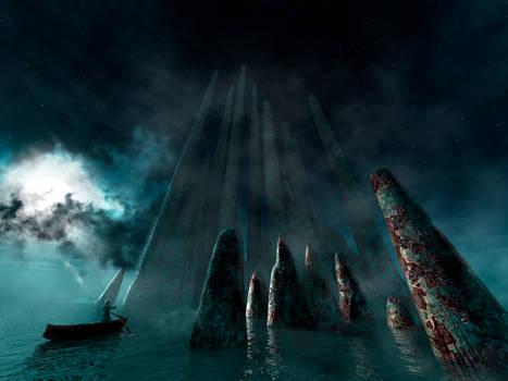 Island ruins