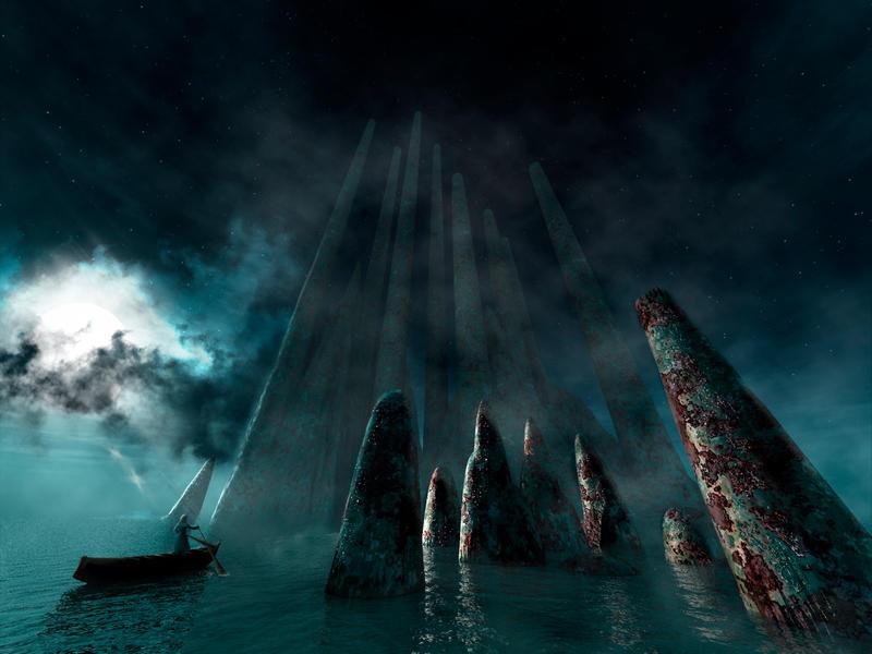 Island ruins by DCSMC
