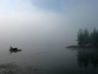 Foggy Lake by BVicius