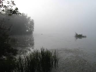 Foggy Lake - 1 by BVicius