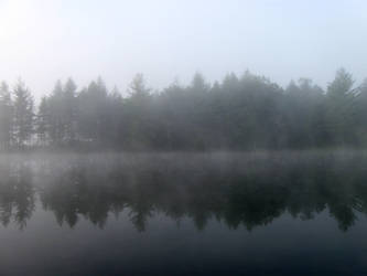 Foggy Lake - 6 by BVicius