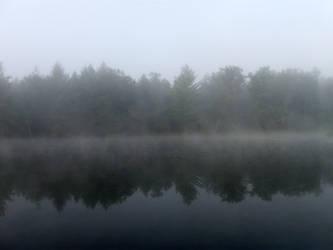 Foggy Lake - 7 by BVicius